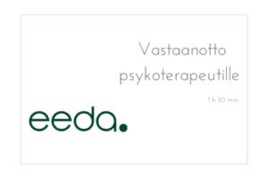 Eeda, vastaanotto psykoterapeutti